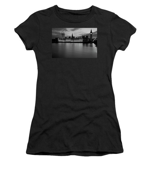 Big Ben And The Houses Of Parliament Women's T-Shirt (Athletic Fit)