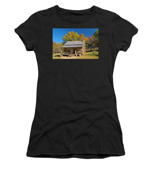 1890's Farm Cabin Women's T-Shirt (Athletic Fit)