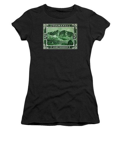 1899 Tasmanian Lake Marion Stamp Women's T-Shirt