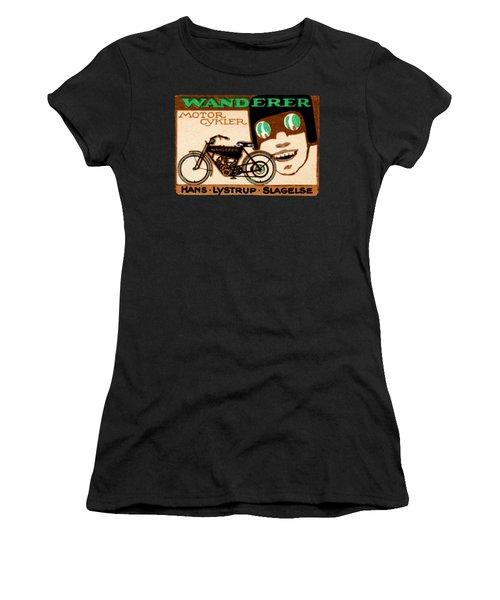 1910 Wanderer Motorcycle Women's T-Shirt