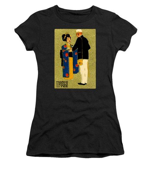 1915 Marco Polo Tea Women's T-Shirt (Athletic Fit)
