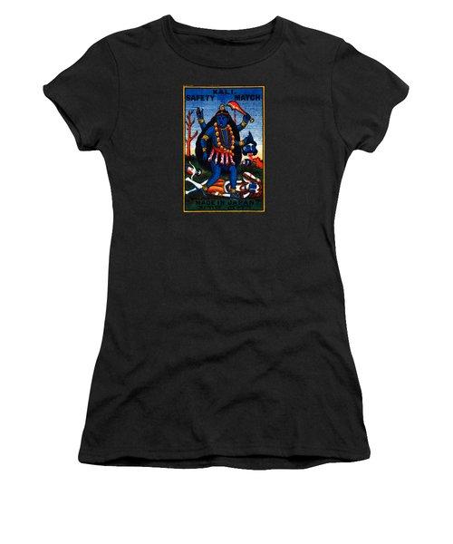 1920 Hindu Goddess Kali Women's T-Shirt (Athletic Fit)