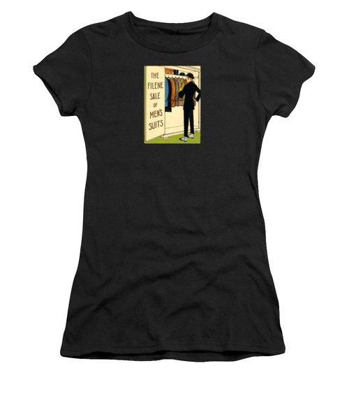 1920 Mens's Suites On Sale Women's T-Shirt (Athletic Fit)