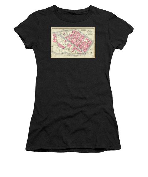1930 Inwood Map  Women's T-Shirt