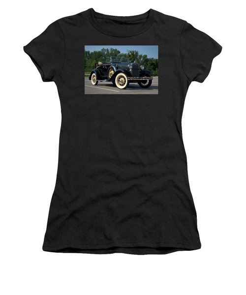 1931 Ford Model A Roadster Women's T-Shirt