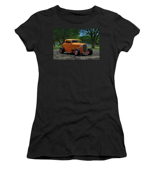 1932 Ford Coupe Hot Rod Women's T-Shirt