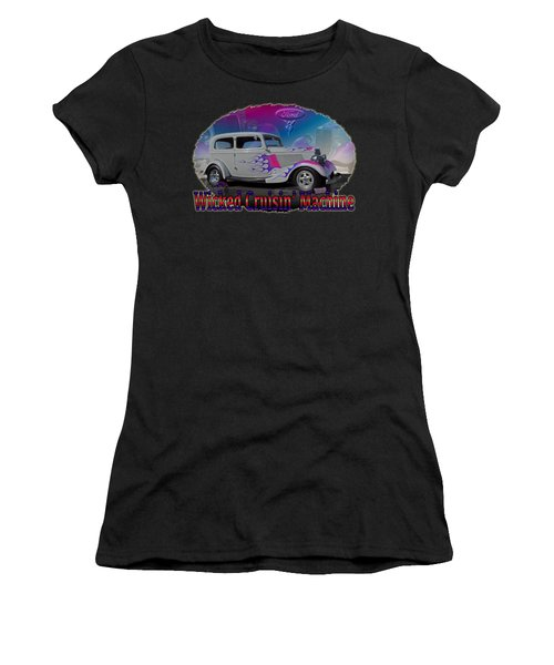 1934 Ford Delux Women's T-Shirt