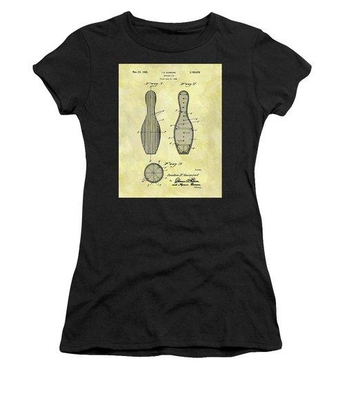 1939 Bowling Pin Patent Women's T-Shirt
