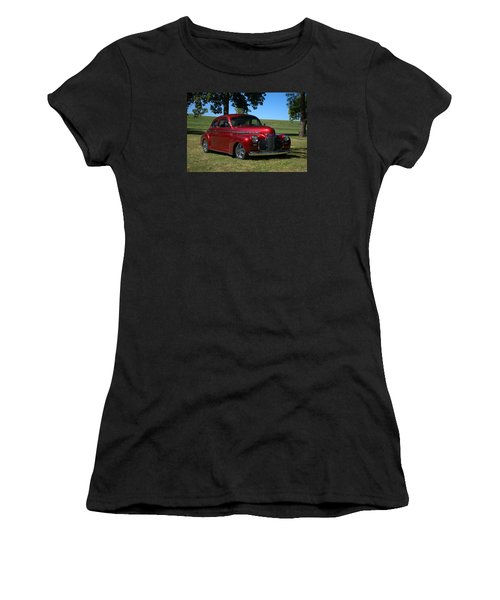 1941 Chevrolet Custom Street Rod Women's T-Shirt (Junior Cut) by Tim McCullough