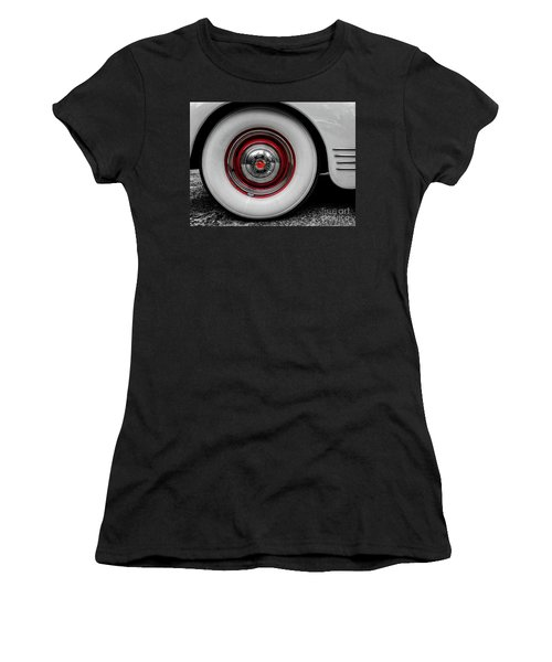 1941 Packard Convertible Wheels Women's T-Shirt