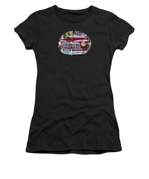 1948 Mercury Convertible Women's T-Shirt (Athletic Fit)