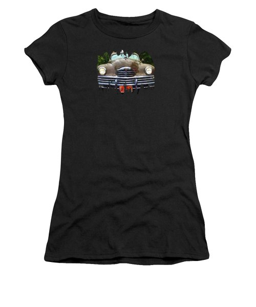 1948 Packard Super 8 Touring Sedan Women's T-Shirt (Athletic Fit)