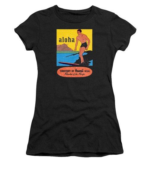 1950 Aloha Hawaii Women's T-Shirt