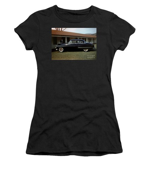 1950 Oldsmobile Futuramic 88 Convertible Women's T-Shirt (Athletic Fit)