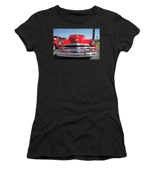 1950 Plymouth Automobile Women's T-Shirt