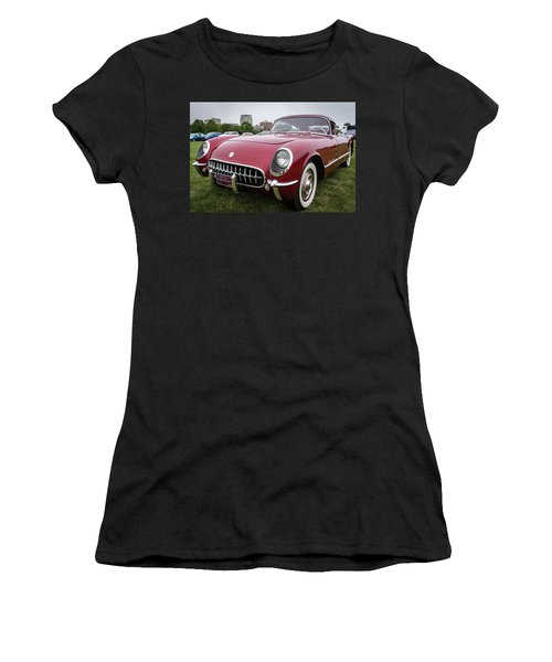 1954 Recreation Chevrolet Motorama Corvette Corvair Fastback Women's T-Shirt
