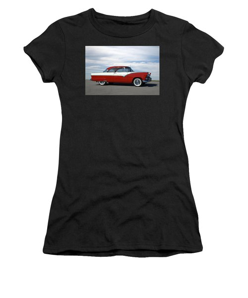 1955 Ford Victoria Women's T-Shirt