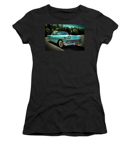 1958 Chevrolet Impala Women's T-Shirt