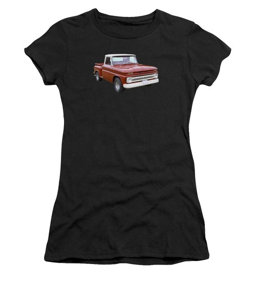 1965 Chevrolet Pickup Truck Women's T-Shirt (Athletic Fit)