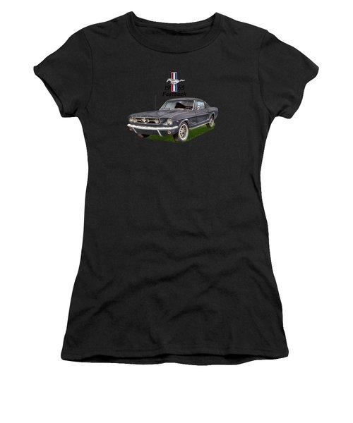 Mustang Fastback 1965 Women's T-Shirt
