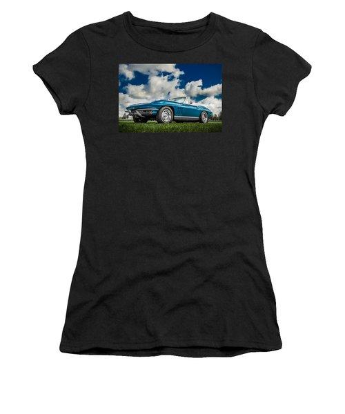 1966 Corvette Stingray  Women's T-Shirt (Athletic Fit)