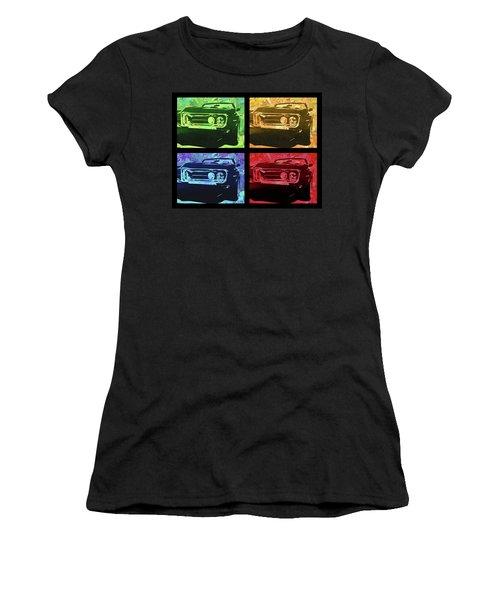 1968 Firebird Pop Quad Women's T-Shirt (Athletic Fit)