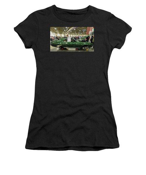 Women's T-Shirt (Junior Cut) featuring the photograph 1969 Amc Amx by Randy Scherkenbach
