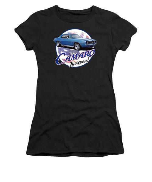 1969 Camaro By Chevrolet Women's T-Shirt