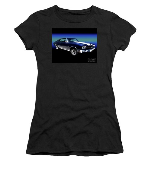 1970 Chevelle Ss Women's T-Shirt (Athletic Fit)