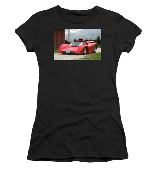 1974 Manta Mirage With Buick 215 Cubic Inch V8 Women's T-Shirt (Athletic Fit)