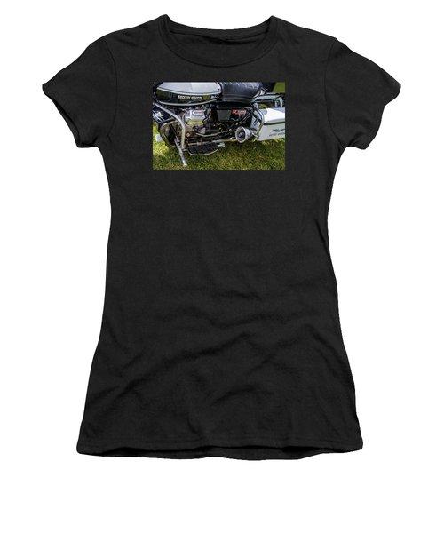 1976 Motto Guzzi V1000 Convert Women's T-Shirt (Junior Cut) by Roger Mullenhour