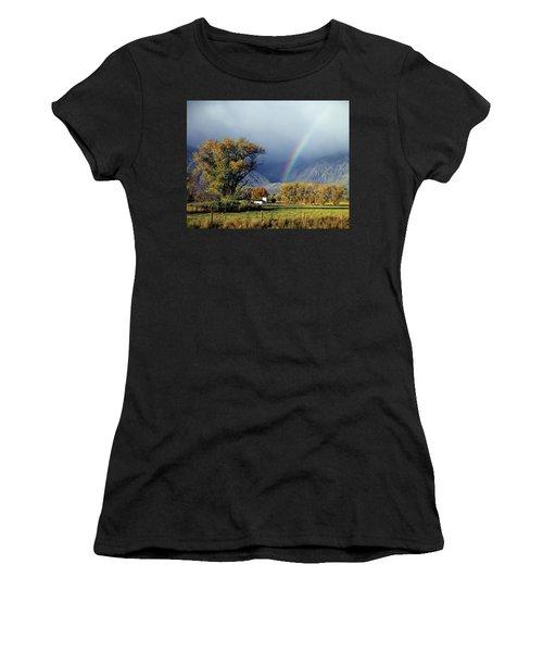 1m6345 Rainbow In Sierras Women's T-Shirt