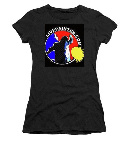 1st Live Painter Logo Women's T-Shirt