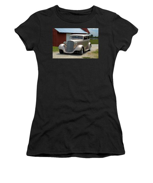 1934 Chevrolet Sedan Hot Rod Women's T-Shirt