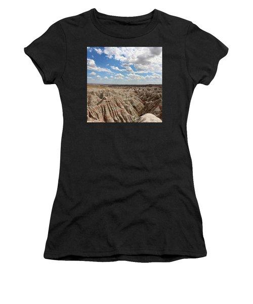 Badland National Park South Dakota Women's T-Shirt