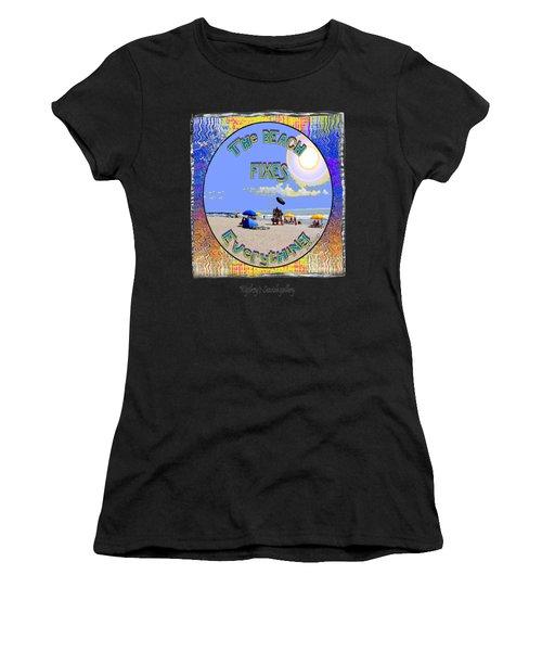 Beach Sign Women's T-Shirt