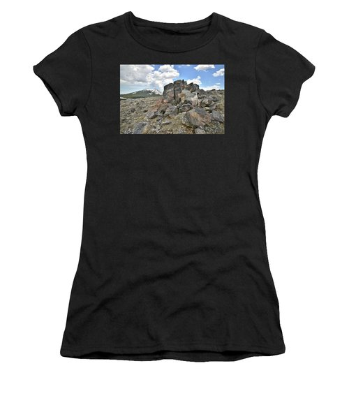 Big Horn Pass In Wyoming Women's T-Shirt
