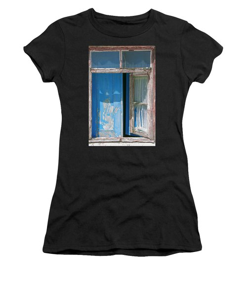 Blue Window Women's T-Shirt