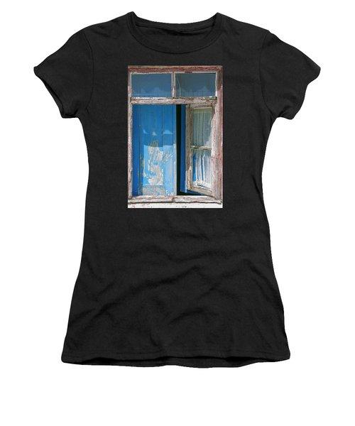 Blue Window Women's T-Shirt