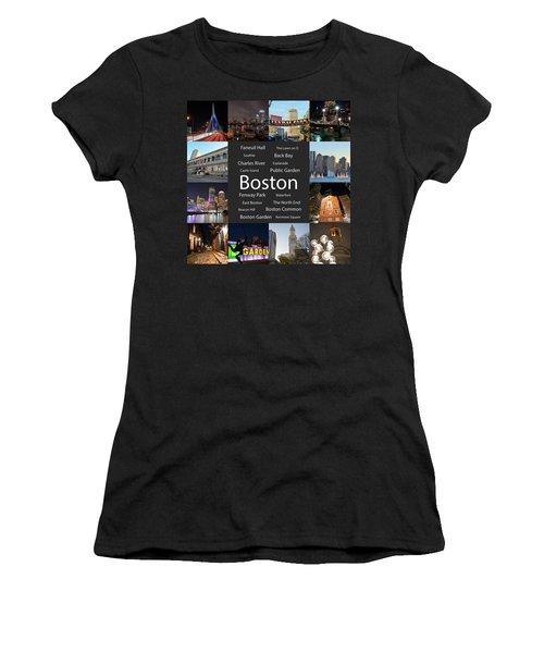 Boston Ma Collage Women's T-Shirt
