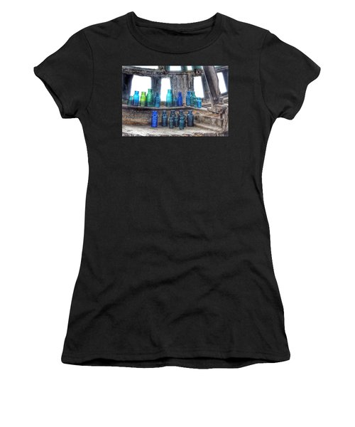 Bromo Seltzer Vintage Glass Bottles  Women's T-Shirt