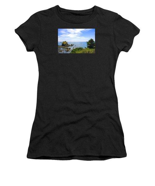 California Coastline Women's T-Shirt