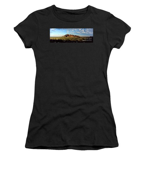 Camelback Mountain, Phoenix Arizona Women's T-Shirt (Athletic Fit)
