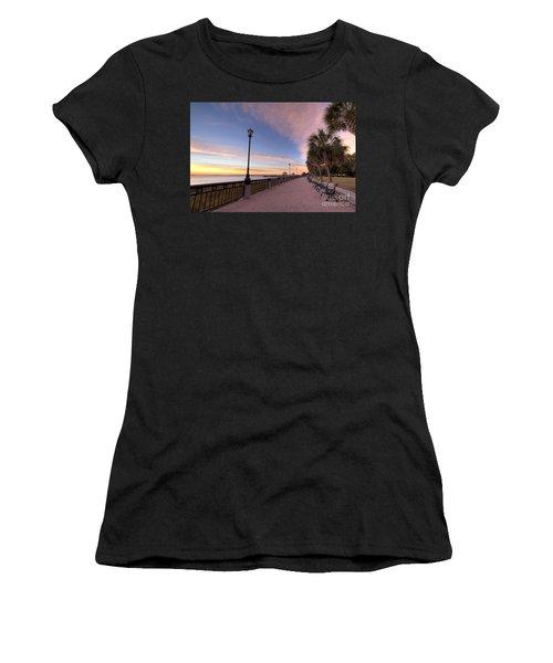 Charleston Waterfront Park Sunrise  Women's T-Shirt