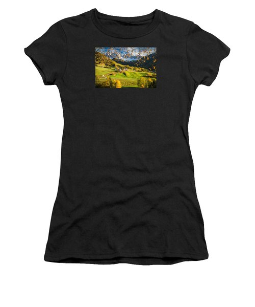 Dolomites Women's T-Shirt (Athletic Fit)