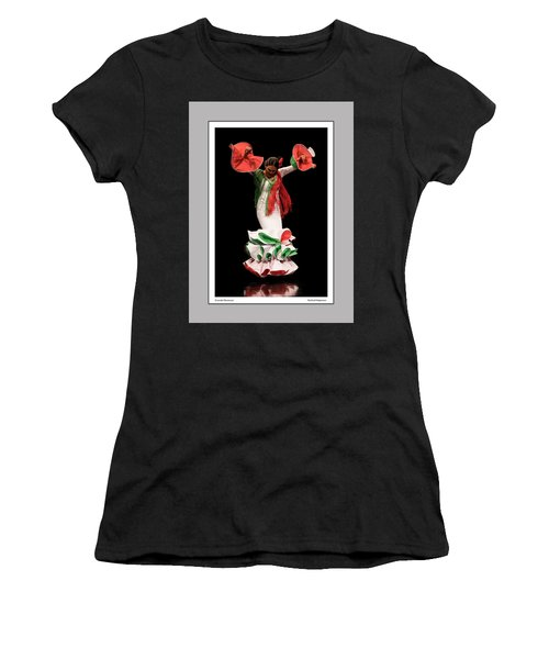 Duende Flamenco Women's T-Shirt (Athletic Fit)