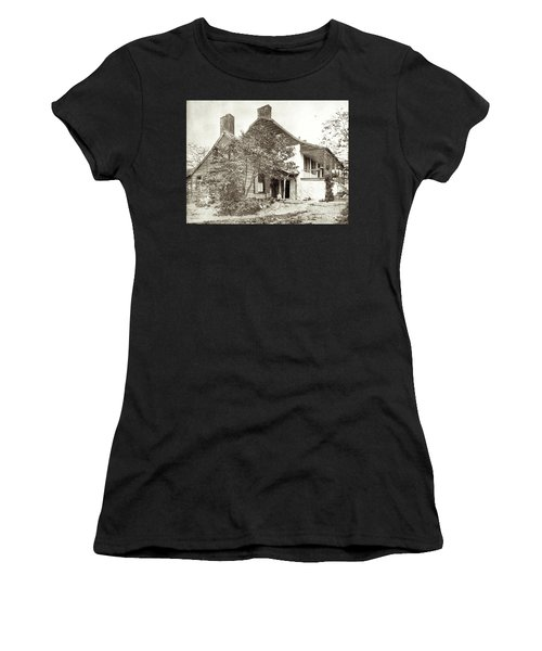 Women's T-Shirt (Athletic Fit) featuring the photograph Dyckman House by Cole Thompson