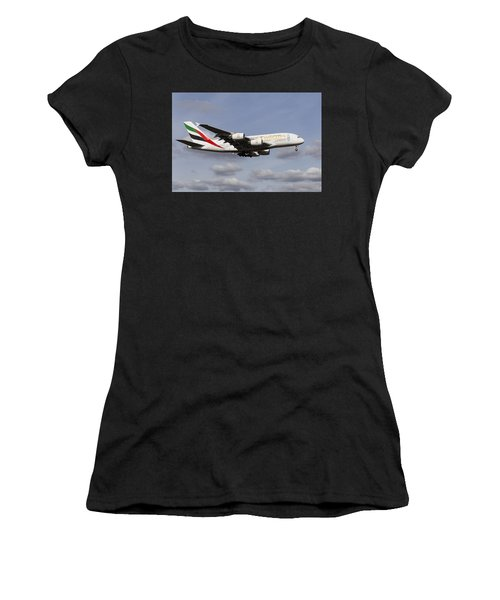 Emirates A380 Airbus Women's T-Shirt (Athletic Fit)