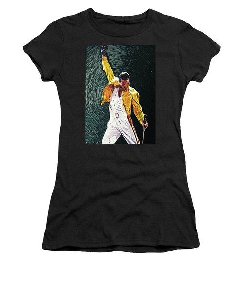 Freddie Mercury Women's T-Shirt