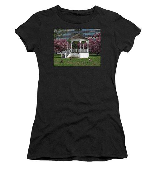 Gazebo In The Park Women's T-Shirt